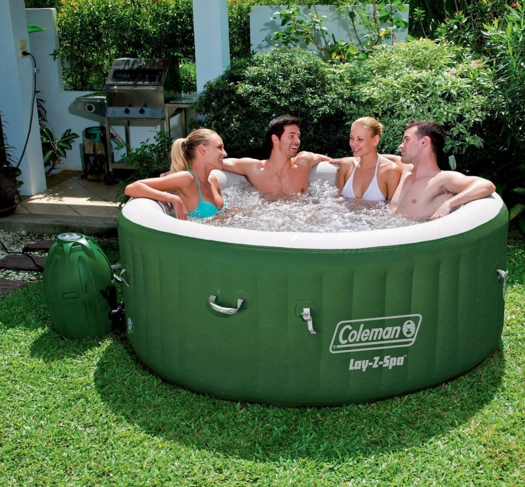 Coleman Inflatable Hot Tub review