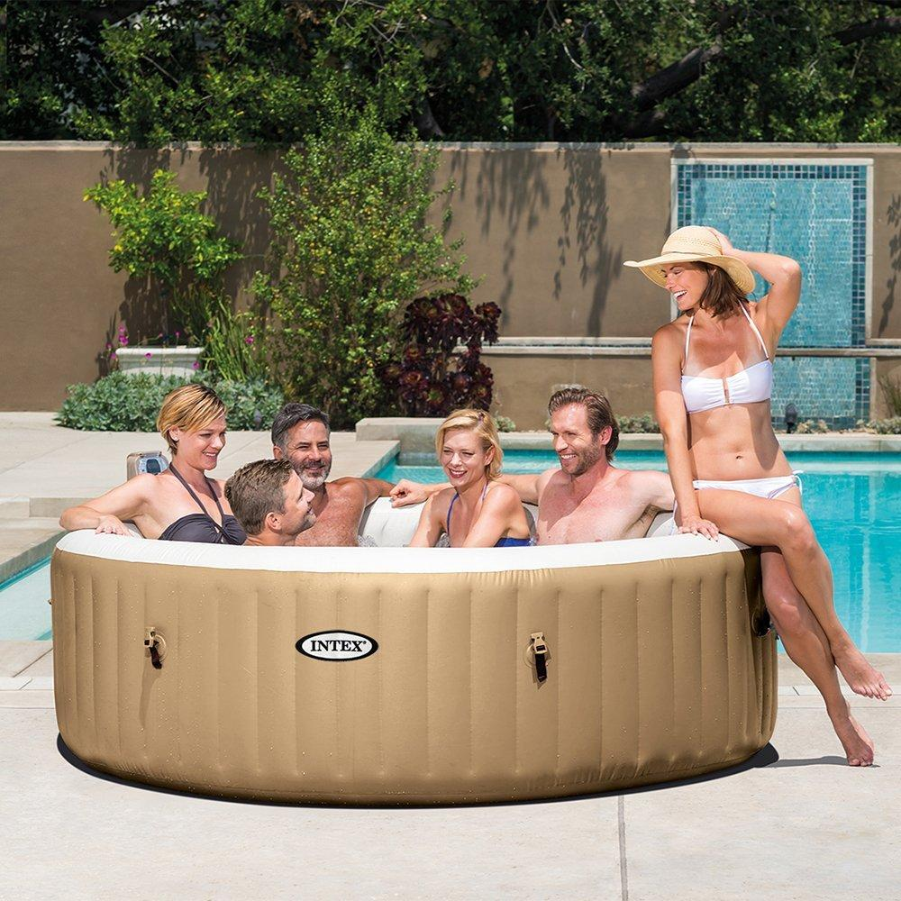Intex 85in PureSpa Portable Spa hot tubs review