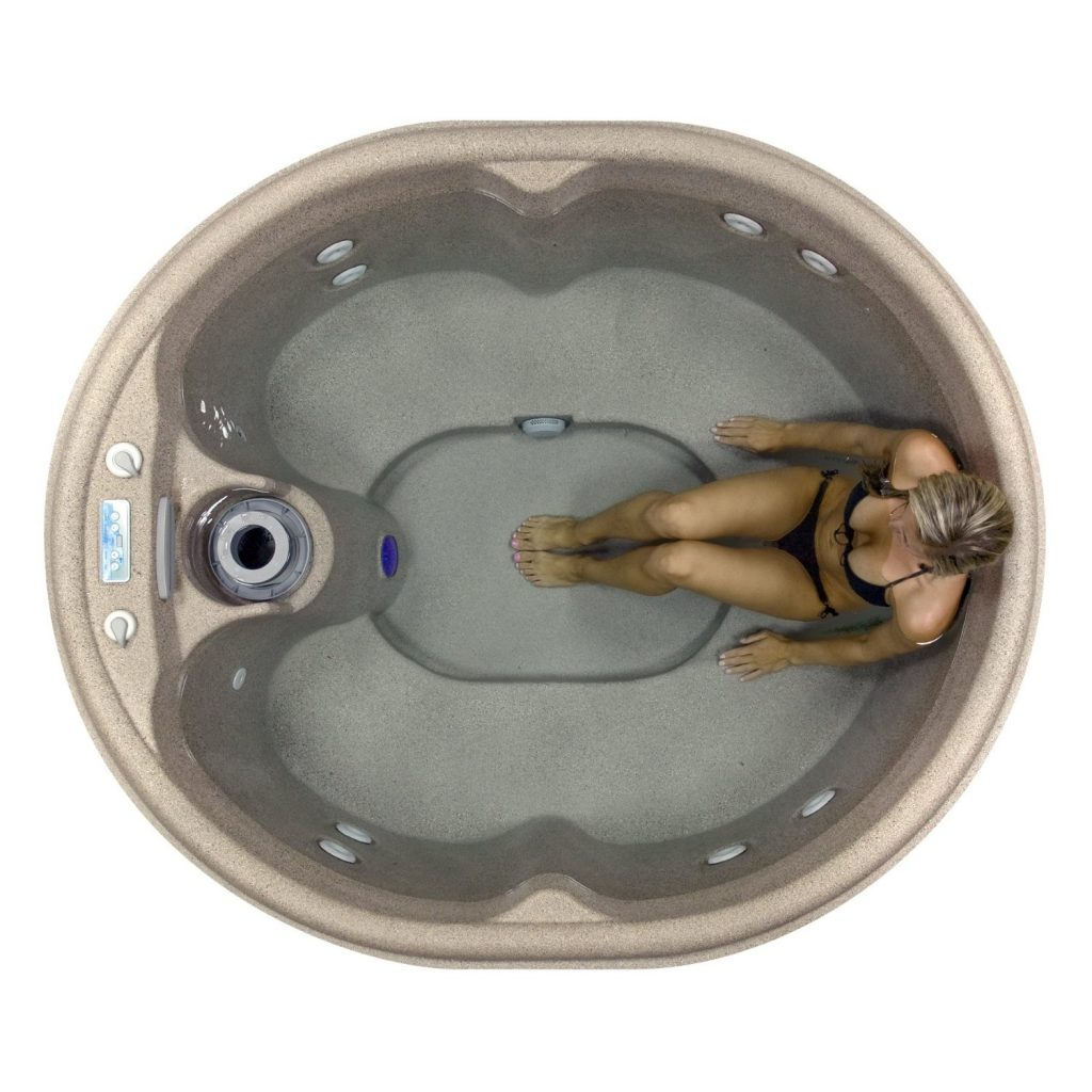 Review Of Lifesmart Rock Solid Luna Spa Hot Tub With Plug