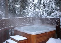 inflatable hot tub winter use