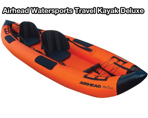 Airhead Watersports Travel Kayak Deluxe review