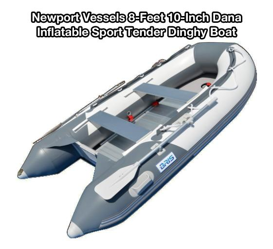 Newport Vessels 8-Feet 10-Inch Dana Inflatable Sport Tender Dinghy Boat