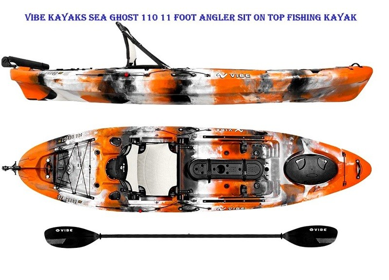 Vibe Kayaks Sea Ghost 110 11 foot Angler Sit On Top Fishing Kayak review