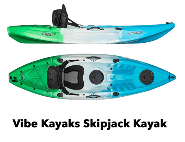 Vibe Kayaks Skipjack review