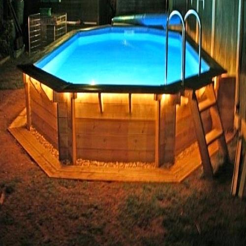 Best above ground pool lights 2018 poolpartyapp for Above ground pool lighting ideas