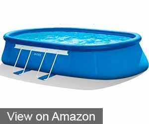 INTEX OVAL FRAME POOL SET