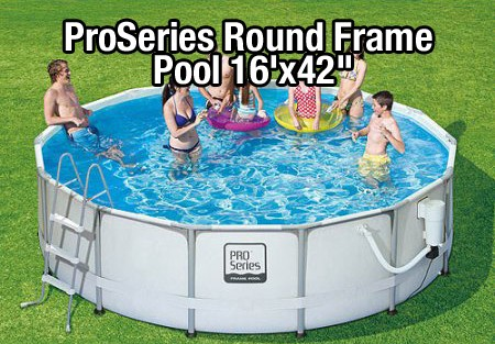 ProSeries Round Frame Pool reviews