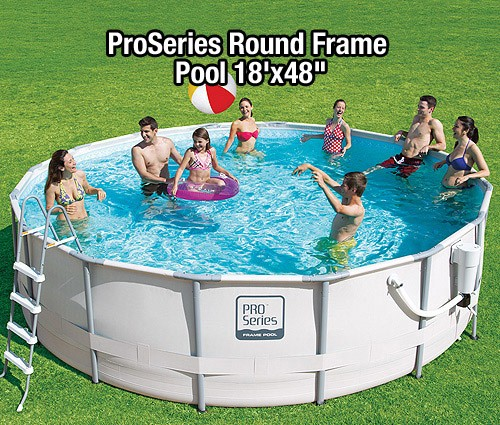 Summer Escapes ProSeries Round Frame Pool