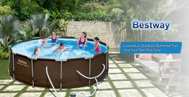 Bestway above ground pool reviews august 2019 poolpartyapp - Above ground swimming pools reviews ...