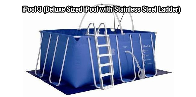 Fitmax iPool 3 (Deluxe Sized iPool with Stainless Steel Ladder)