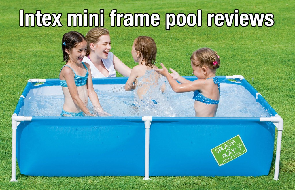 Unbiased intex mini frame pool reviews poolpartyapp for Intex mini frame pool afdekzeil