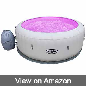 Lay-Z-Spa Paris Hot Tub With LED Lights