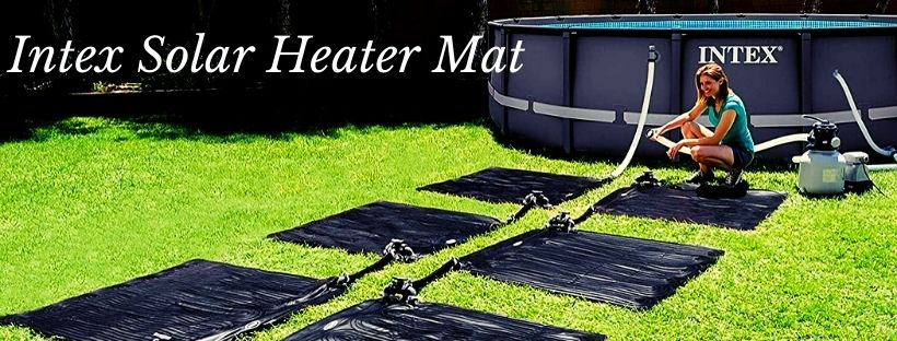 The Intex Solar Heater Mat for Above-ground Pools
